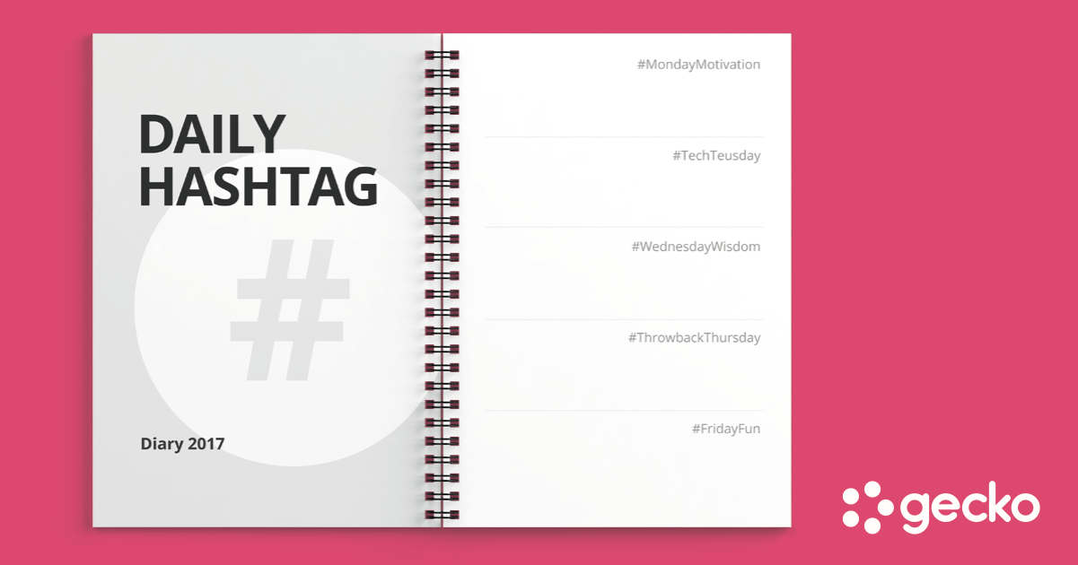 Top Daily Hashtags for Twitter and Instagram